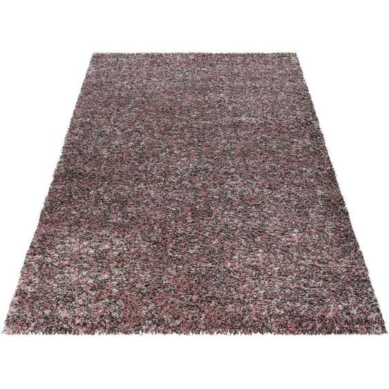 Hochflor-Teppich, Enjoy Shaggy, Ayyildiz, rechteckig, Höhe 50 mm, maschinell gewebt 6, 200x290 cm, mm rosa Kinder Bunte Kinderteppiche Teppiche
