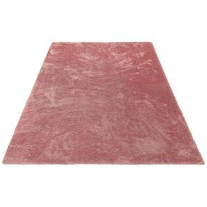 Hochflor-Teppich »Irma«, my home, rechteckig, Höhe 32 mm, Trendiges Design