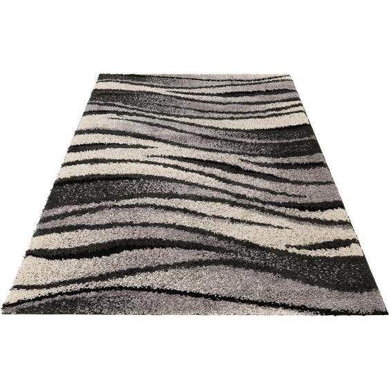 Hochflor-Teppich »Jamie«, my home, rechteckig, Höhe 30 mm, weiche Haptik, Wohnzimmer
