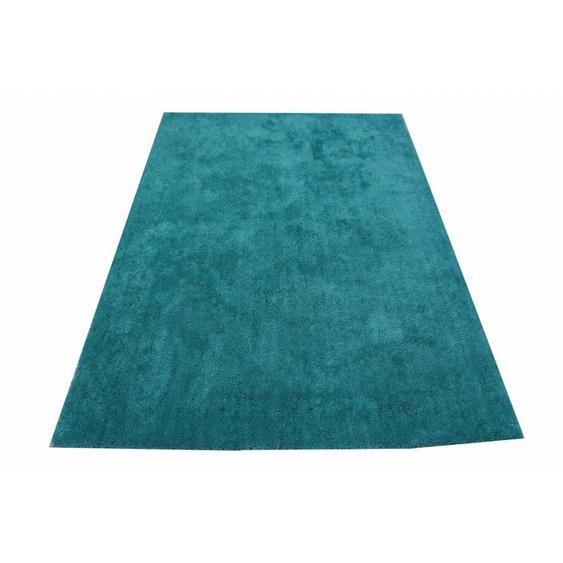 Hochflor-Teppich, Lucia, LeGer Home by Lena Gercke, rechteckig, Höhe 30 mm, maschinell getuftet 7, 240x320 cm, mm grün Shaggy-Teppiche Hochflor-Teppiche Teppiche