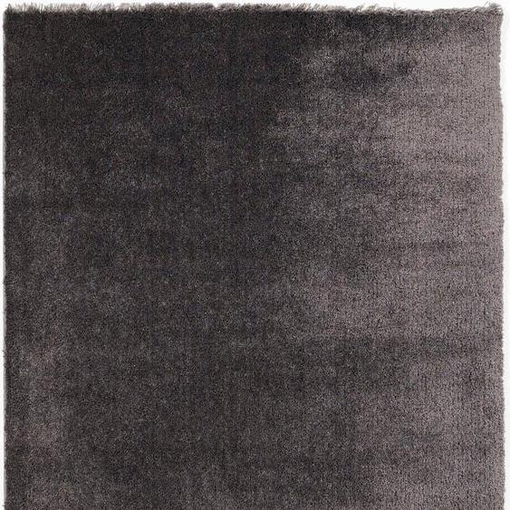 Hochflor-Teppich, Royal Uni, OCI DIE TEPPICHMARKE, rechteckig, Höhe 30 mm, maschinell gewebt 32, 200x250 cm, mm grau Moderne Teppiche