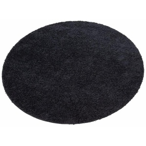 Hochflor-Teppich »Shaggy 30«, Home affaire, rund, Höhe 30 mm