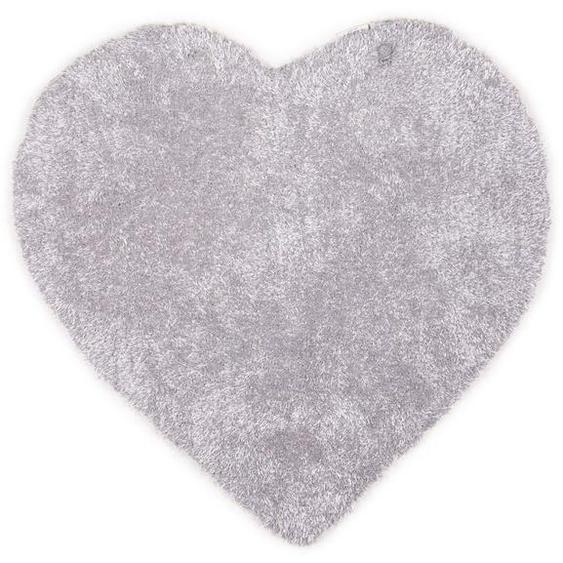 Kinderteppich »Soft Herz«, TOM TAILOR, herzförmig, Höhe 35 mm, super weich und flauschig