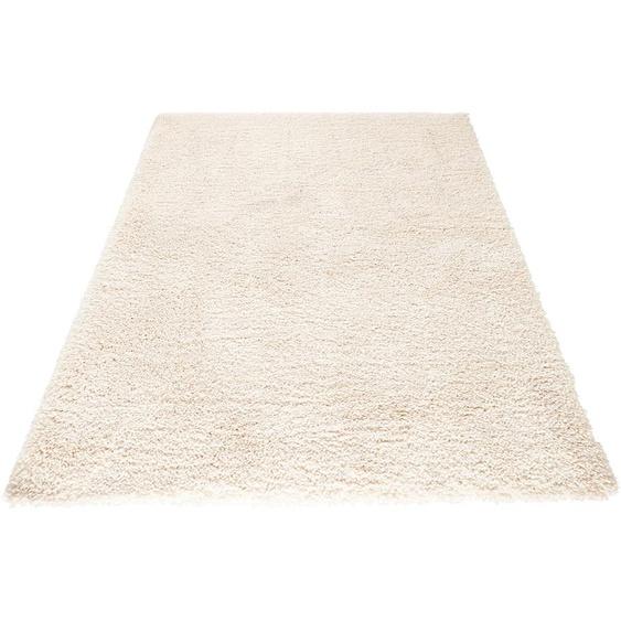 MINT RUGS Hochflor-Teppich Venice, rechteckig, 45 mm Höhe, melierte Optik, Wohnzimmer 6, 200x290 cm, beige Kinder Bunte Kinderteppiche Teppiche