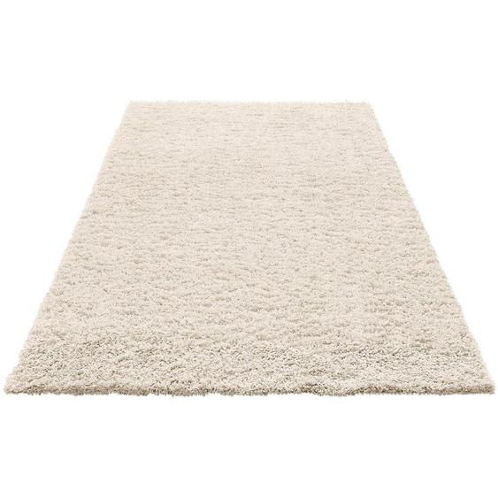 Hochflor-Teppich »Viva«, Home affaire, rechteckig, Höhe 45 mm, gewebt, Wohnzimmer
