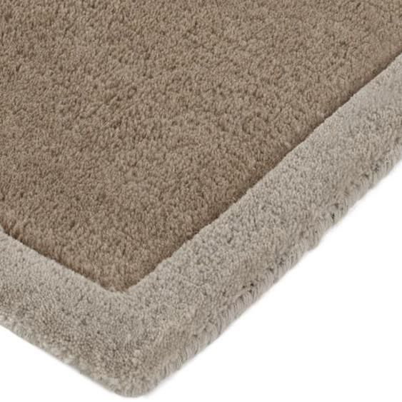 Hochflorteppich 4, ca. 120/180 cm grau Shaggy-Teppiche Hochflor-Teppiche Teppiche