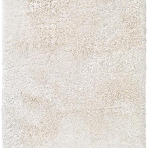 Hochflorteppich Lea Weiß 160x230 cm