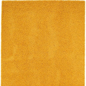 Hochflorteppich Swirls Gelb 160x230 cm