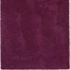 Hochflorteppich Swirls Lila 240x340 cm