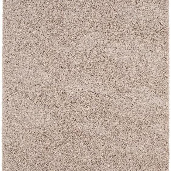 Hochflorteppich Swirls Taupe 120x170 cm