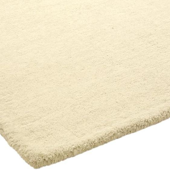 Hochflorteppich uni Farben 4, ca. 120/180 cm weiß Shaggy-Teppiche Hochflor-Teppiche Teppiche