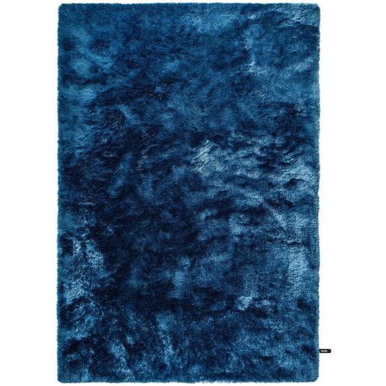 Hochflorteppich Whisper Blau 140x200 cm