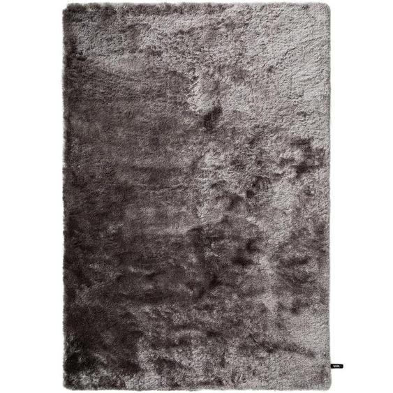 Hochflorteppich Whisper Grau 140x200 cm
