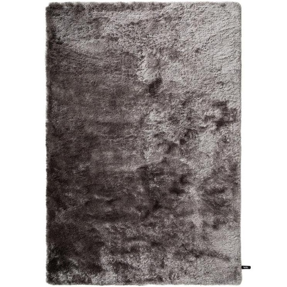 Hochflorteppich Whisper Grau 160x230 cm
