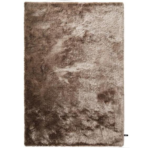 Hochflorteppich Whisper Hellbraun 120x170 cm