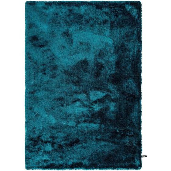 Hochflorteppich Whisper Türkis 120x170 cm