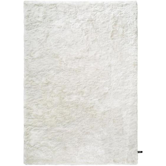 Hochflorteppich Whisper Weiß 160x230 cm
