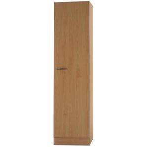 Hochschrank, 1-türig   Klassik 50 B | holzfarben | 50 cm | 207 cm | 50 cm |