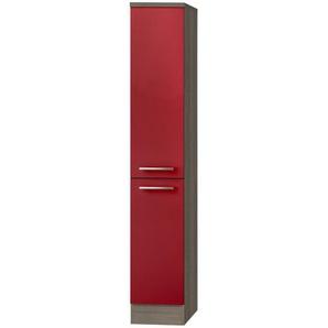 Hochschrank  Monza   rot   30 cm   174,4 cm   58 cm  