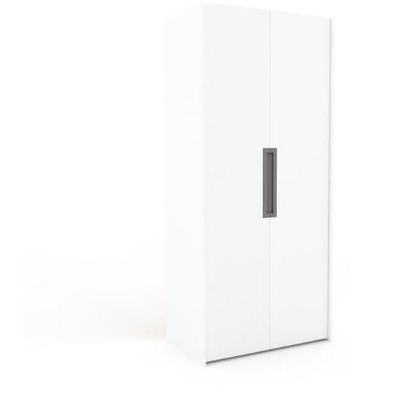 Hochschrank Weiß - Moderner Schrank: Hochwertige Qualität, einzigartiges Design - 104 x 233 x 62 cm, Selbst zusammenstellen