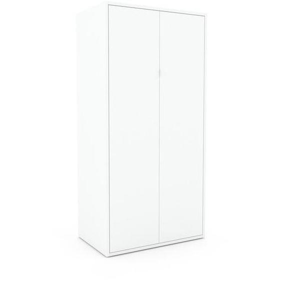 Hochschrank Weiß - Moderner Schrank: Türen in Weiß - Hochwertige Materialien - 77 x 157 x 47 cm, Selbst zusammenstellen