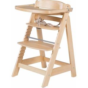 Roba Hochstuhl aus Holz »Treppenhochstuhl, Sit Up Fun, natur«, beige, Roba®
