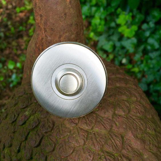 Hochwertige Türklingel -Schelle hohe Qualität Klingel Messing - Titan vernickelt