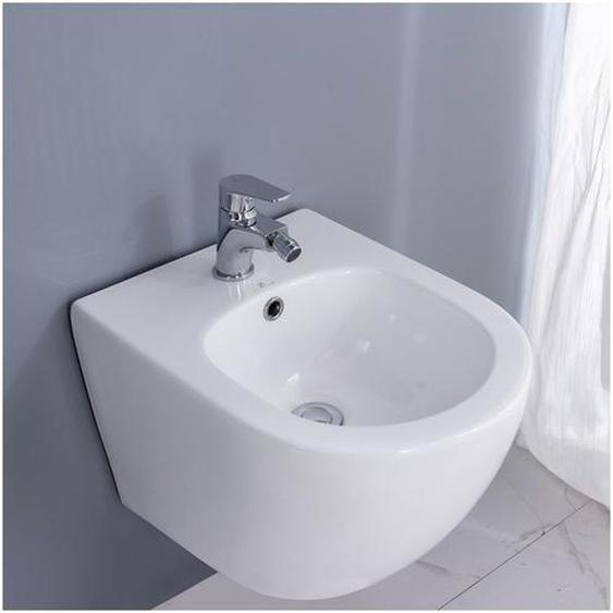 Hochwertiges Hänge Wand Bidet Spülrandloses Sanitärkeramik Weiß Bidete ohne Bidet Armatur - Homelody