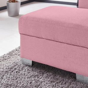Hocker, rosa, FSC®-zertifiziert, DOMO collection