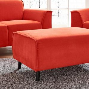 Hocker, orange, FSC®-zertifiziert, DOMO collection