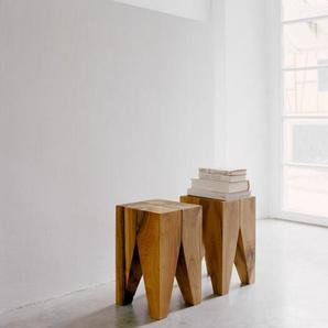 Hocker Backenzahn E15, Designer Philipp Mainzer, 47x27x27 cm