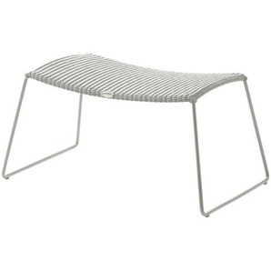 Hocker Breeze grau, 36x74x36 cm