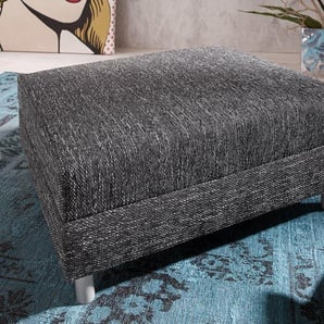 Hocker Clovis B98 x T83 Schwarz Modul Strukturstoff, Design Modulsofas, Couch Loft, Modulsofa, modular