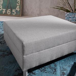 Clovis Hocker Grau B98 x T83 Grau Modul Flachgewebe, Design Modulsofas, Couch Loft, Modulsofa, modular