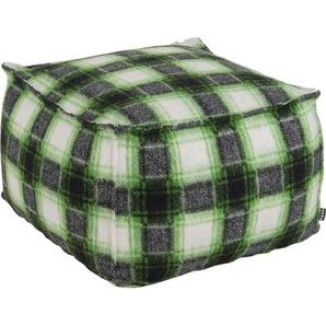 Hocker, grün, Material Textil »Scorpio«, H.O.C.K.
