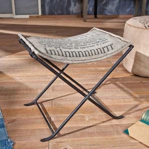 Hocker im Loft Design klappbar