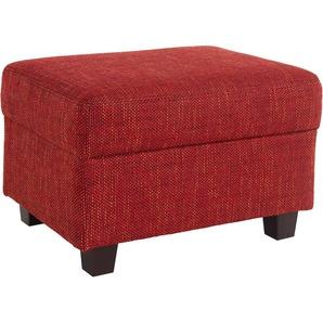 Hocker, rot, FSC®-zertifiziert, DOMO collection