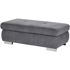 Hocker  Perry ¦ grau ¦ Maße (cm): B: 129 H: 47 T: 64
