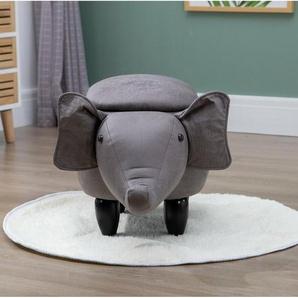 Hocker Rylie Elephant mit Stauraum