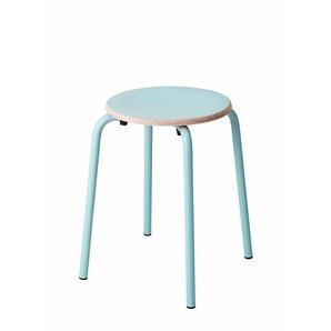 Hocker TabCollege blau, Designer Perfecta, 46x35x35 cm