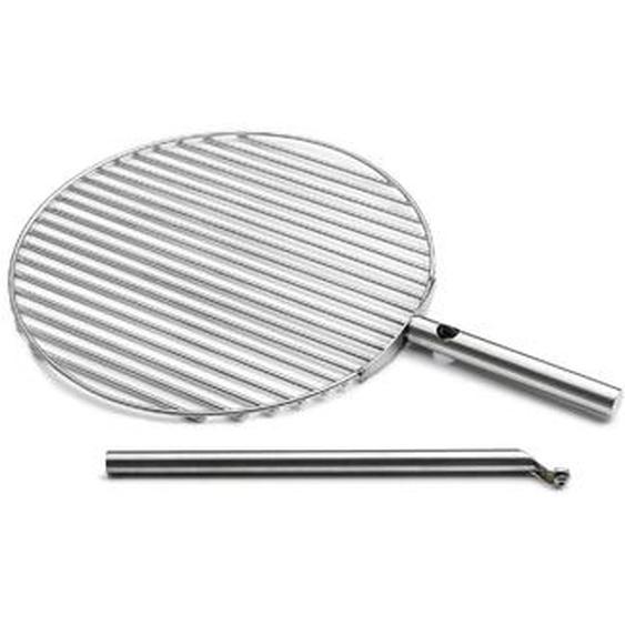 Höfats Grillrost, Silber, Edelstahl 45 cm
