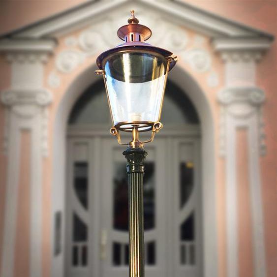 Hoflampe Beleuchtung Terrasse Große Aussenleuchte Terrassenleuchte - H.269 cm