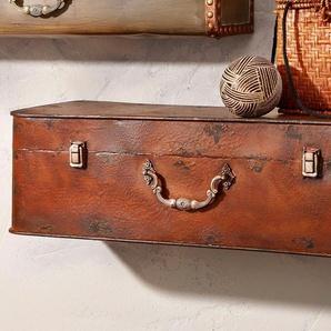 Wandkonsole, Home affaire, »Koffer«