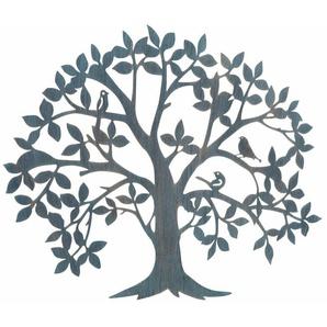 HOFMANN LIVING AND MORE Wanddekoobjekt »Baum«, Wanddeko, aus Metall