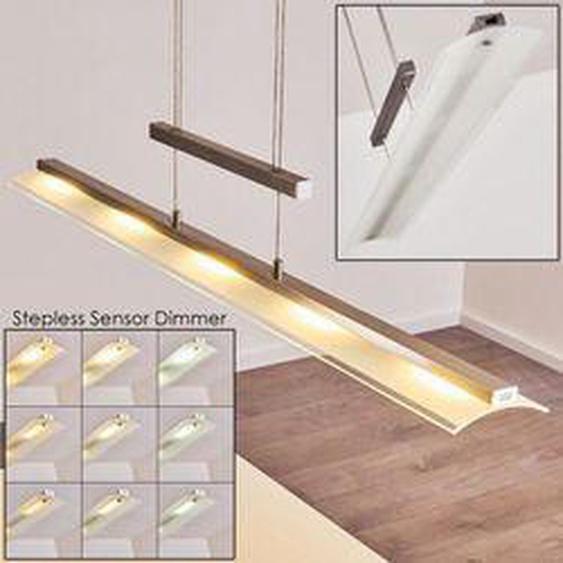 Hogana Pendelleuchte LED Edelstahl, 5-flammig - Modern - Innenbereich - versandfertig innerhalb von 2-4 Werktagen