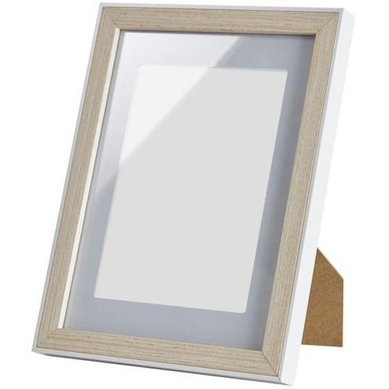Holz-Bilderrahmen weiß 18x24 cm  Aruba - weiß - Holz   Möbel Kraft