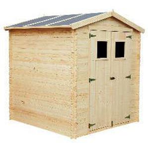 Holz Gartenhaus AZUR B 217 x T 224 cm, 19 mm
