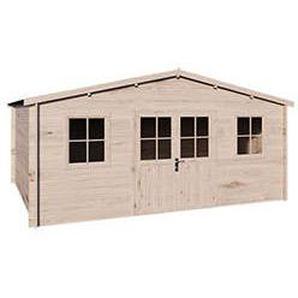 Holz Gartenhaus THONON B 480 x T 400 cm, 28 mm