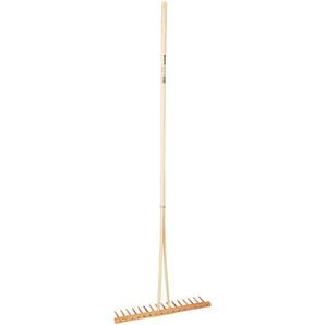 Holzrechen 50 cm mit Stiel