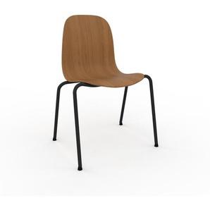 Holzstuhl in Eiche 49 x 83 x 57 cm einzigartiges Design, konfigurierbar